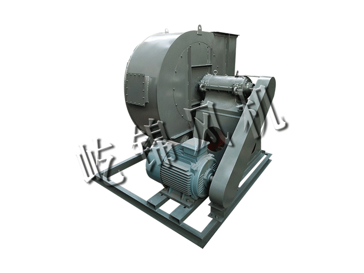 Industrial boiler fan